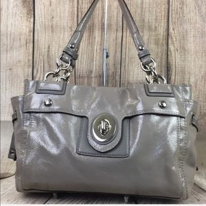 Coach Peyton Patent Leather handbag satchel purse